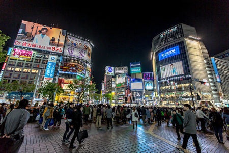Watch Shibuya Crossing live webcam from Tokyo